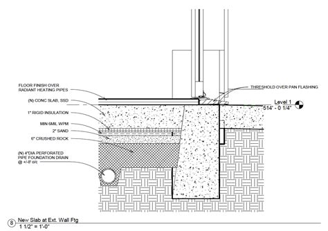 Concrete Floor Slab Detail by Installing A Concrete Slab The Right Way
