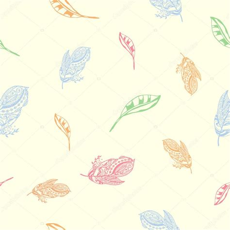 pattern soft pastel vector rare seamless pattern of exotic peerless decorative