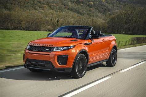 range rover specifications 2017 range rover evoque convertible pricing and