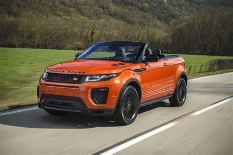 range rover convertible 2017 range rover evoque convertible pricing and