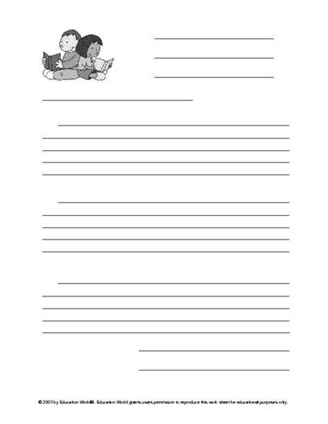 grade friendly letter template 10 best images of friendly letter worksheet template 4th
