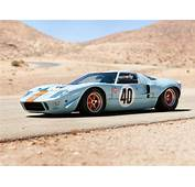 1968 Gulf Ford GT40 Le Mans Racing Car Race Classic