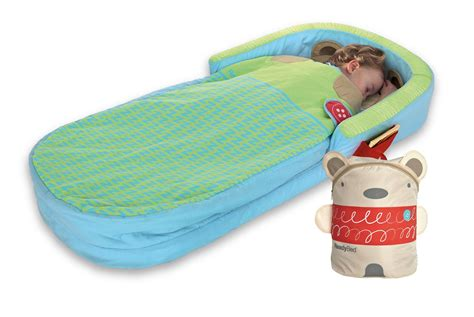 children s inflatable bed amazon com diggin bear hug my first ready bed toys games