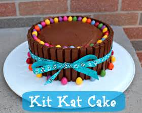 birthday cake ideas kit kat cake recipe kate