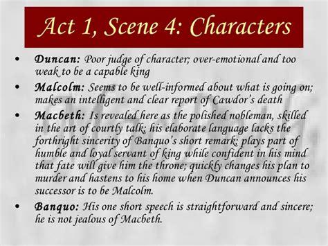 themes of macbeth act 1 scene 5 macbeth power point