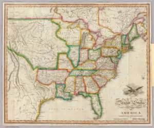 america map zoomable united states of america melish 1822