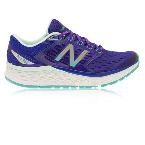 best cushioned running shoes womens new balance m1080v6 womens purple cushioned running shoes
