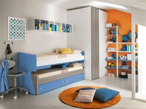 kids double bed trundle beds for children to create an accessible bedroom
