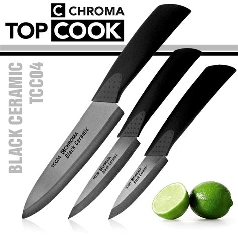 Zr02 Set chroma top cook ceramic knife tcc set of 3 cookfunky