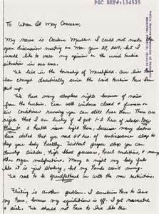handwritten cover letter sles best letter sle
