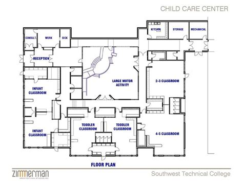 Facility Sketch Floor Plan Family Child Care Home Preschool Building Plans And Designs