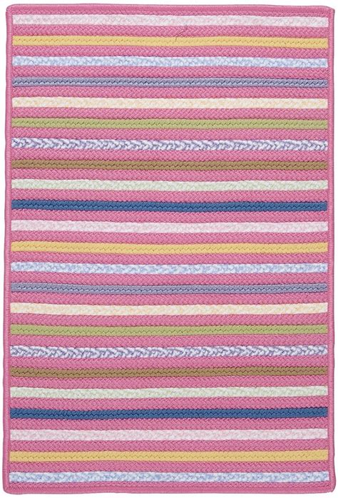 Bright Area Rug Colonial Mills Bright Stripe Braided Area Rug Collection Rugpal Se71 5800
