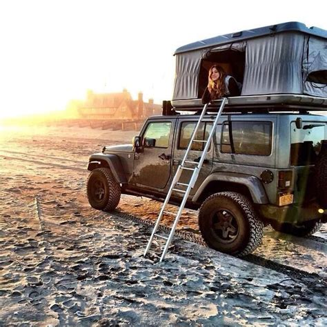 Jeep Wrangler Unlimited Roof Top Tent Jeepwrangleroutpost Jeep Times 9 Jeep