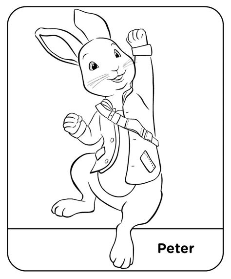 peter rabbit lily coloring pages coloring pages