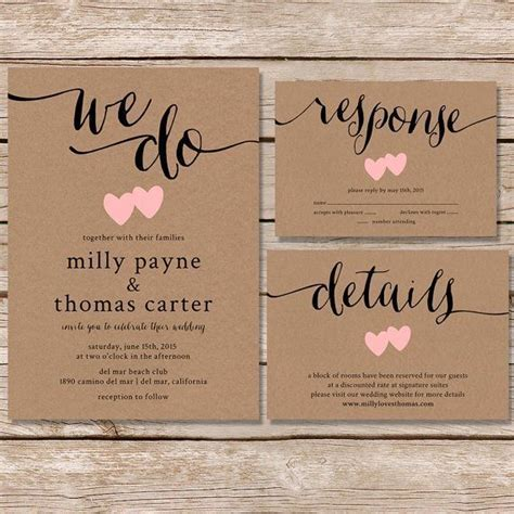wedding invitations rustic best photos   Wedding Day