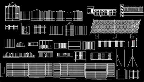 barandilla bloque autocad bloques autocad gratis de cierres exteriores verjas rejas