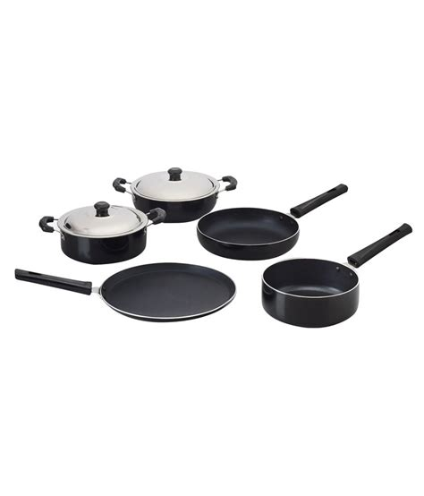 5 Pcs Non Stick Cookware Set anjali non stick cookware gift set 5 pcs buy at best price in india snapdeal