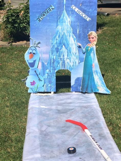 themes for winter carnival frozen ice hockey carnival games pinterest