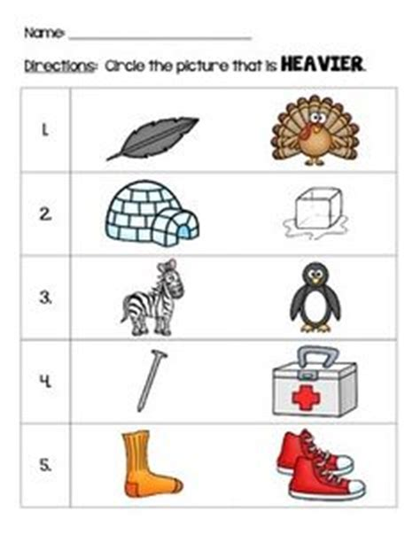 heavy and light lesson plan kindergarten 1000 images about role reversal math on pinterest math