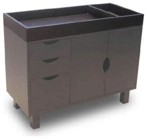 bratt decor changing table bratt decor changing table in mocha stain modern