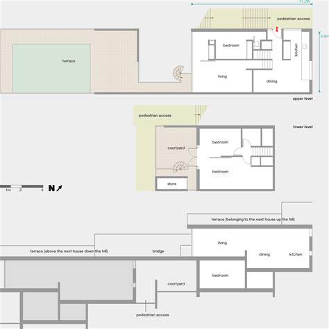 Modern House Floor Plan branch hill modern architecture london
