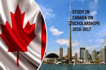 Study Mba In Canada With Scholarship by Top 10 Scholarships In Canada For International Students
