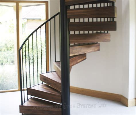 Spiral Staircase by Spiral Staircase Chichester With Solid Walnut Treads