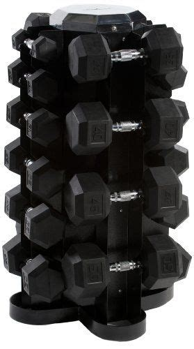 Dumbbell Set With Rack 5 50 by Cap 550 Lb Rubber Hex Dumbbell Set 5 50 Lbs In 5 Lb