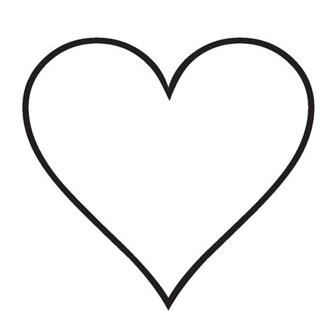 imagenes de corazones sin color forma de corazon para colorear opticanovosti de3e87527d71