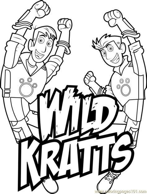 coloring pages of wild kratts get this wild kratts coloring pages free ypy8n