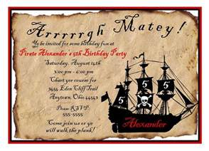 free printable pirate party invitations home party ideas
