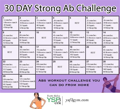 30 days abs challenge calendar search results for ab 30 day challenge calendar 2015