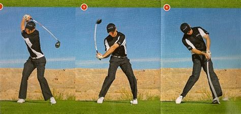 golf swing not hit golf tip improve distance and consistency by increasing
