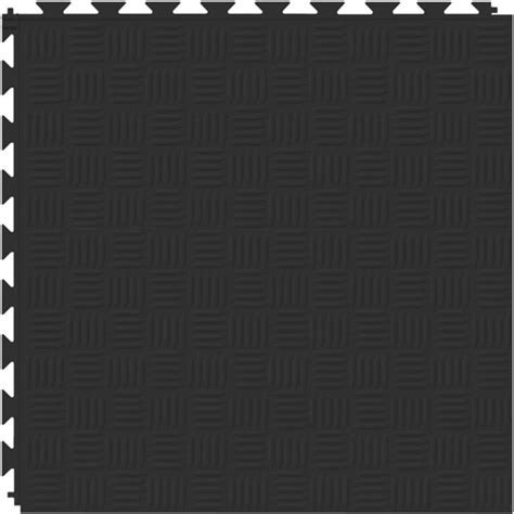 Tuff Seal Black Floor Tiles   Modular Garage, Basement