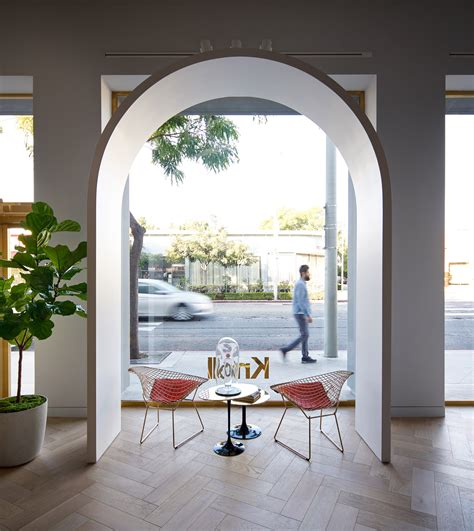 knoll home design shop 3novices knoll opens la store based on moroccan castle by