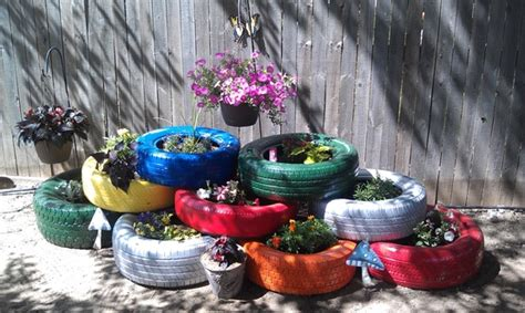 charming diy ideas   reuse  tires