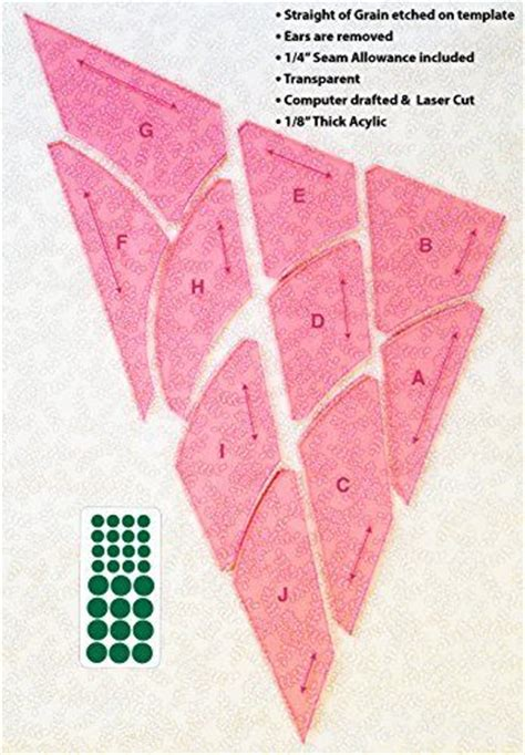 Quilting From The Heartland by Cleopatra S Fan Templates By Sharlene Jorgenson Quilting