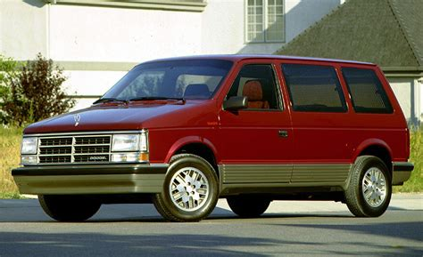 turbo dodge caravan car and driver