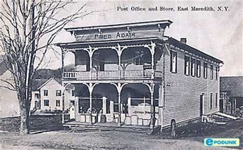 East New York Post Office by East Meredith New York Information Epodunk