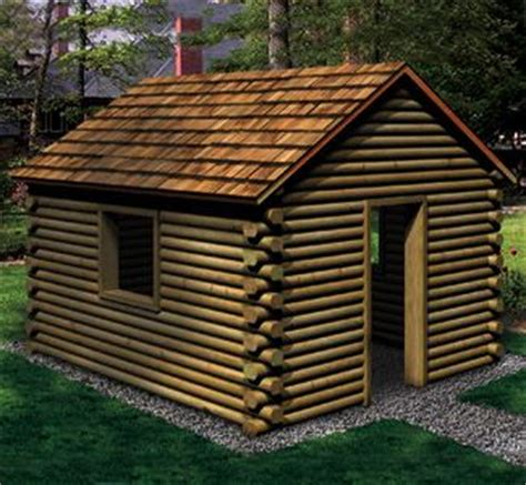 Landscape Timbers Cabin Play Cabin Made Of Landscape Timbers Tree Houses And