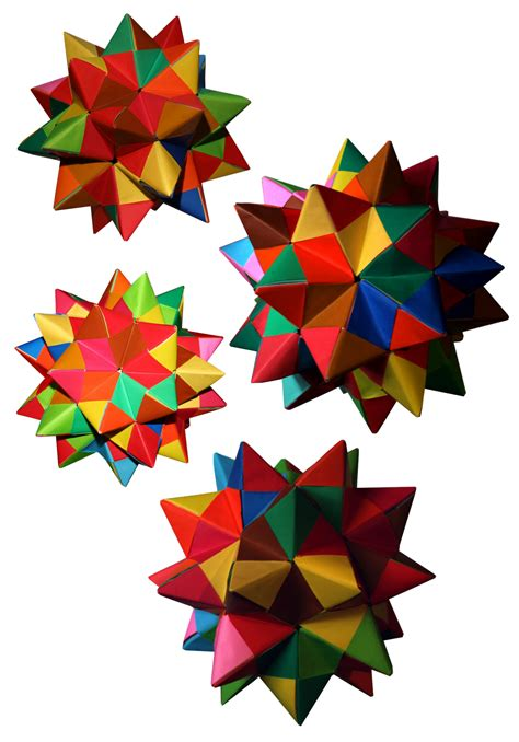 origami spike origami maniacs origami spiked pentakis dodecahedron by