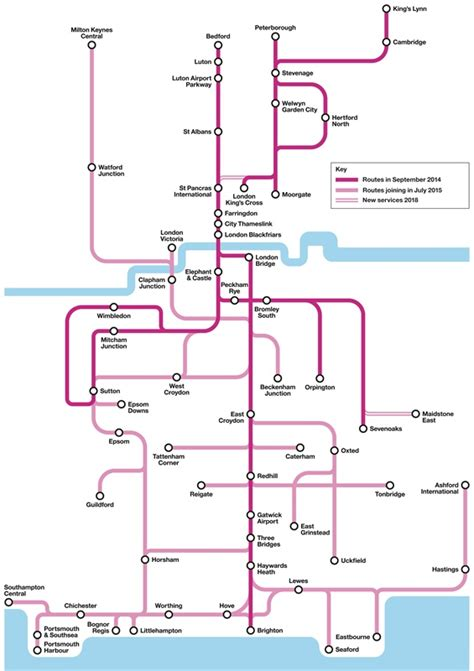 thameslink route govia takes over thameslink franchise from fcc on sunday