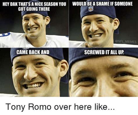 Romo Meme - funny tony romo memes of 2016 on sizzle fake
