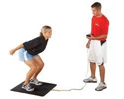 Electronic Vertical Jump Mat by Just Jump System Jumping Trainers Sports