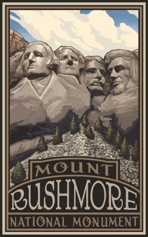 monuments and their builders classic reprint books northwest mall 11 quot x 17 quot poster mount rushmore