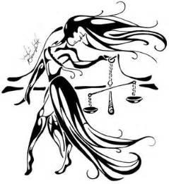 zodiac symbol picture libra tribal tattoo