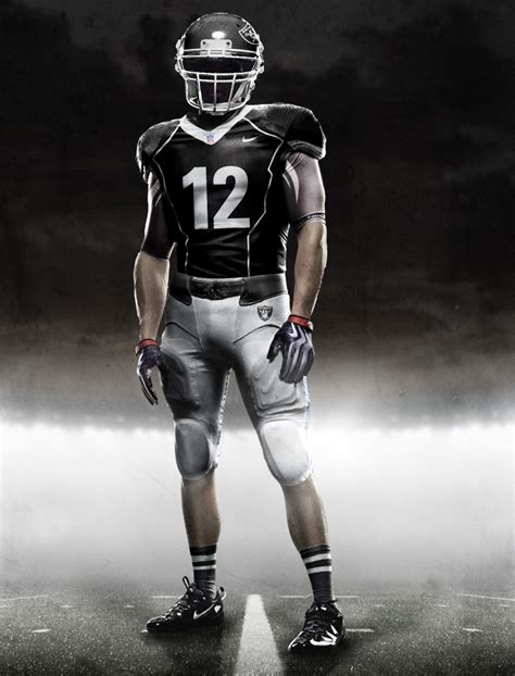 design raiders jersey new nfl nike uniforms with pictures of all teams
