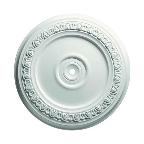 Focal Point Ceiling Medallions by Focal Point 19 In Egg And Dart Ceiling Medallion 83318 The Home Depot