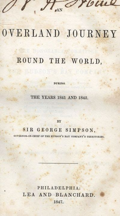 an overland journey the world during the years 1841 and 1842 classic reprint books vialibri 643538 books from 1847