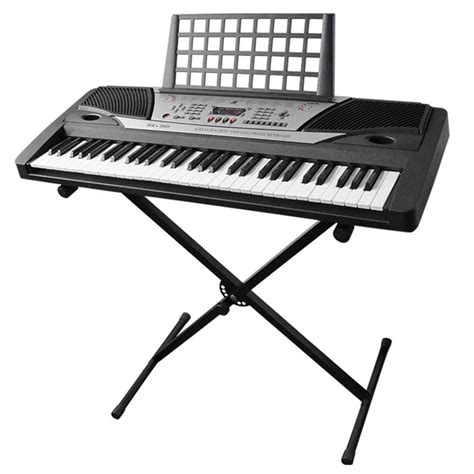 Keyboard Elektrik piano keyboard quot x quot stand electric organ rack folding metal